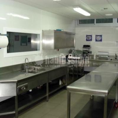 Aula escuela Europea -  Cocina colectividad