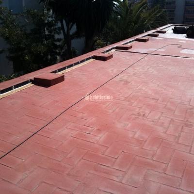 Impermeabilización de cubierta no transitable