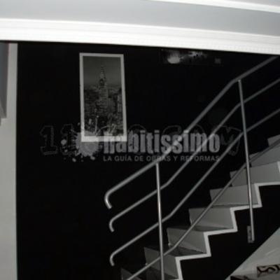 Decoración tiro de escalera