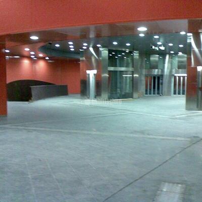 Obra línea 9 de metro en Barcelona