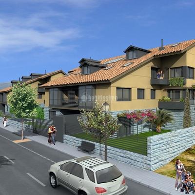 Bloques de viviendas en San Lorenzo de El Escorial
