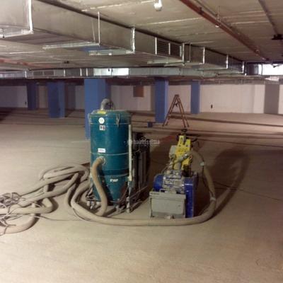 Pavimentos industriales para parking en Sevilla