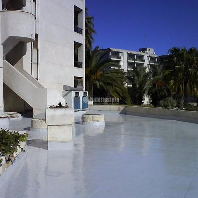 Impermeabilizacion Terraza Piscina Hotel Princess Salou