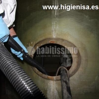 Limpieza y desinfeccion depositos de agua, tratamientos de aguas potables - Legionella