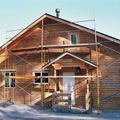 Rehabilitación y mantenimiento de fachadas de madera