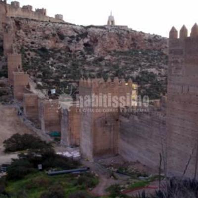 Muralla de la Hoya Alcazabar Almeria