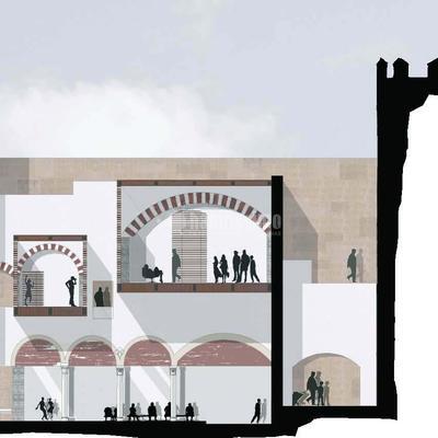 Intervención en la Plaza Alta, Badajoz