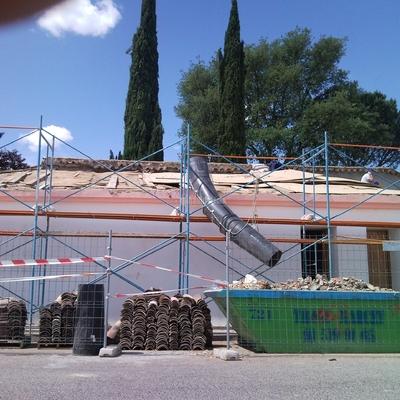 Restauración Caserio San Fernando Madrid