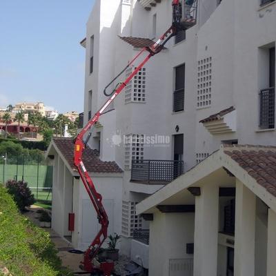 Pintura exterior Urbanización Alcaidesa Village