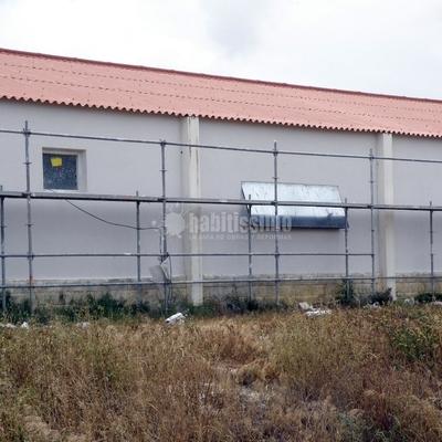 Aislamiento Térmico, ETICS, de una Granja Porcina en Teruel