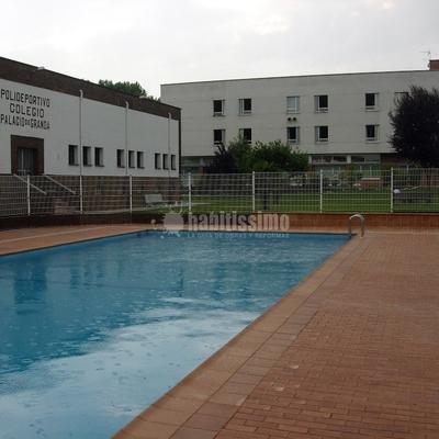 Construcción De Piscina En Colegio