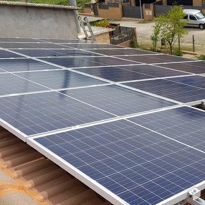 Fotovoltaica con aerotermia