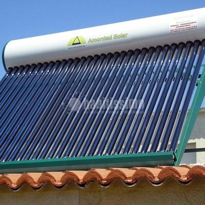 Placa Solar Tubo De Vacío Termosifón En Campano Chiclana De La Frontera