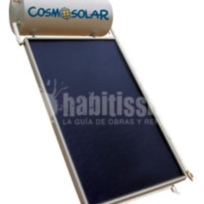 Placa Solar Panel Termosifón Modelo Comercializado