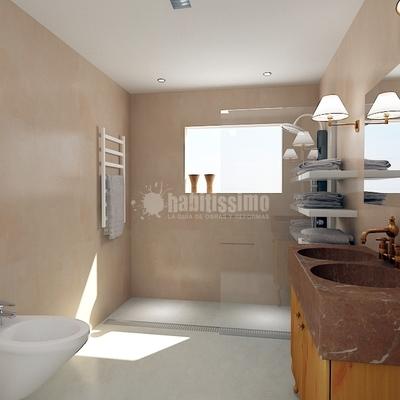 Baño Realizado Con Microcemento