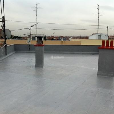 Reconstrucción Fachada y cubierta de edificio