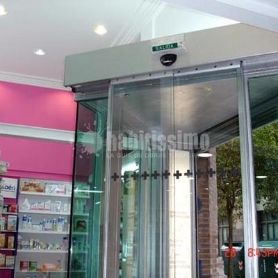 Instalacion Puerta Automática Cristal