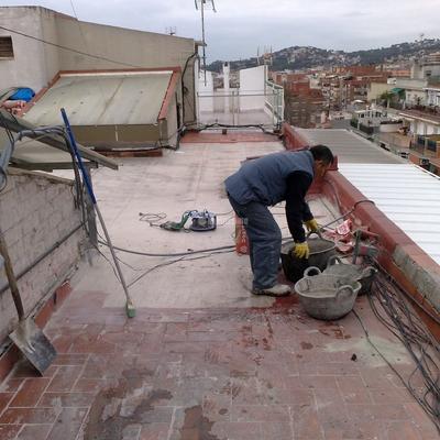 Restauración Terrado Comunitario