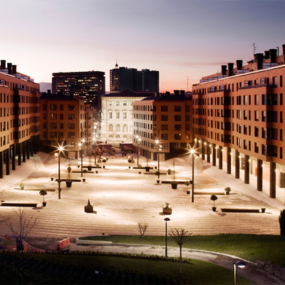 211 viviendas en Plaza del Gas Bilbao