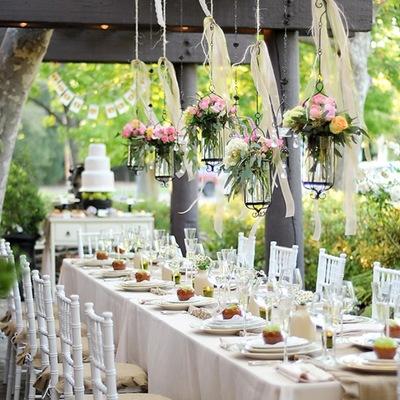 Trucos para decorar tu boda con poco dinero pero con mucho estilo