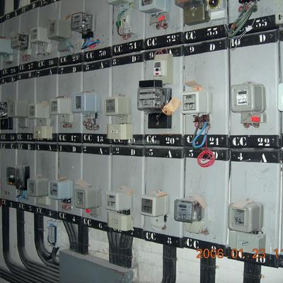 Remodelación cuarto de contadores