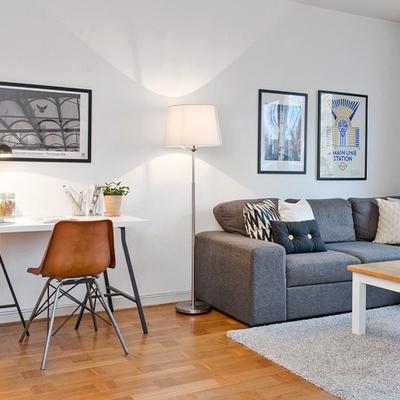 Una casa del montón convertida en un acogedor apartamento
