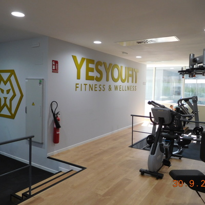 Reforma integral de local para gimnasio