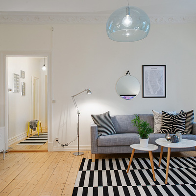 Un piso que presume de ser un 'caos ordenado'
