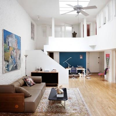 Un loft amplio para soñar con Nueva York