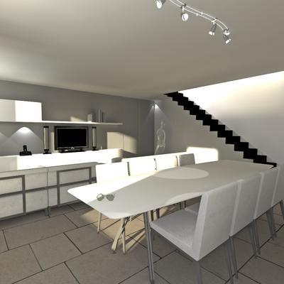 3D Render de reforma viviendas