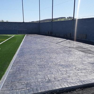 El campo de fútbol de Gama