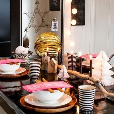 Lúcete con tu mesa y adornos esta Navidad