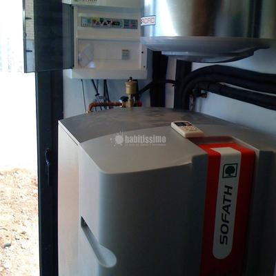 Instalación geotermia tierra-agua en Cataluña