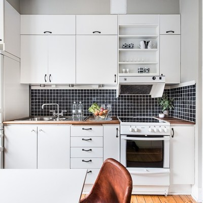 Ideas y fotos de frontal cocina negro para inspirarte for Frontal cocina ideas