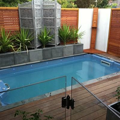 Presupuesto construir piscina de fibra online habitissimo for Piscinas de fibra de vidrio medidas