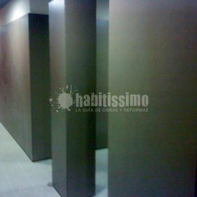 Reforma vestuarios pabellon San Sicenç de Castellet