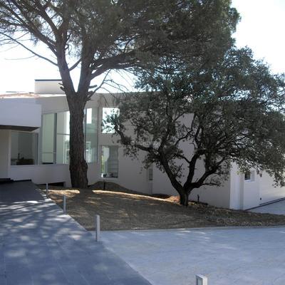 Construcción de vivienda particular.