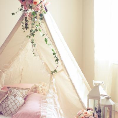Cabaña romántica