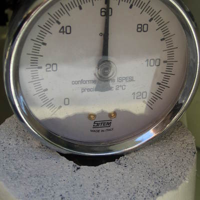 60ºC 160 L en 2 horas