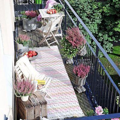 ¡Dale vida a tu balcón!