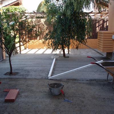 Reforma integral jardin
