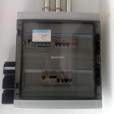Instalacion electrica de un local industrial c/ Rossell L'H.