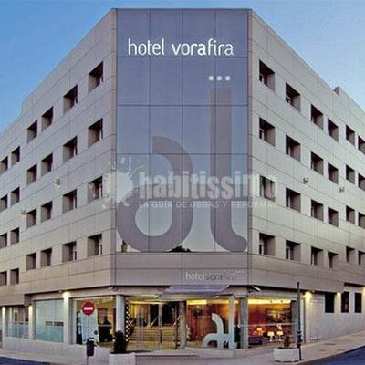 Reformas interior de habitaciones en el hotel Vorafira