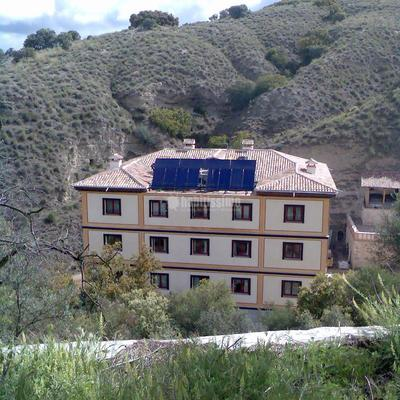 Instalación solar térmica para agua caliente sanitaria