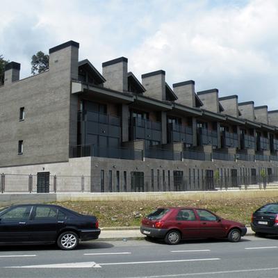 9 chalets adosados en Gaztelondo, Bilbao