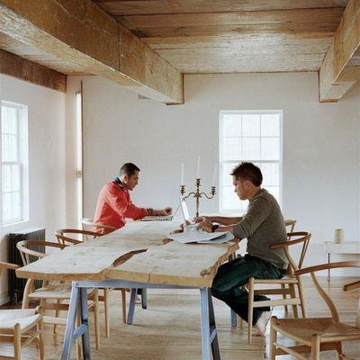Mesa madera modernizada
