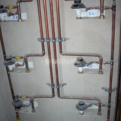 Instalacion de Gas Natural en Obra nueva 10 vecinos