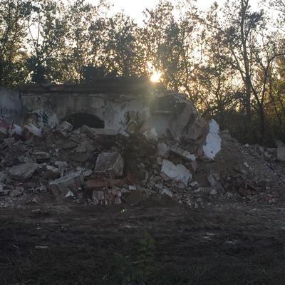 Demolición casa la isla