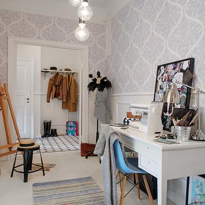 Ideas y fotos de armarios y vestidores de estilo urbano - Como pegar papel pintado ...