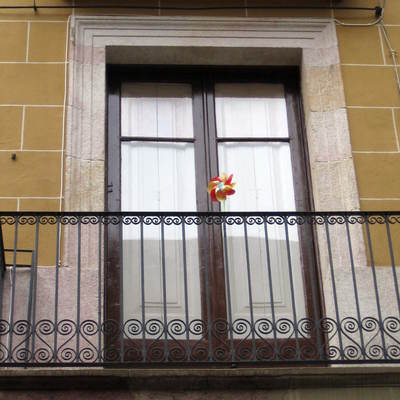 Acabado de conjunto de balcón